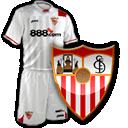 Camisetas con escudo Sevilla2