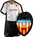 Camisetas con escudo Valencia