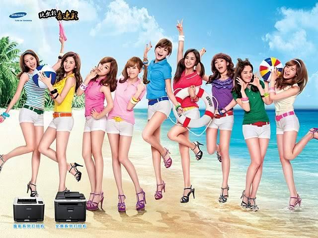 [13.07.2010][PICS/VID/CF] SNSD - New Samsung China 2010  1-4