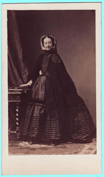 Eugenia de Montijo, emperatriz de Francia PacaduquesadeAlbaDisderi