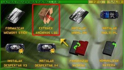 .:Tutorial Despertar del Cementerio V7:. MenUltrapandoraInstallerV3Paso7