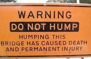 Hump Day Sign-Hump