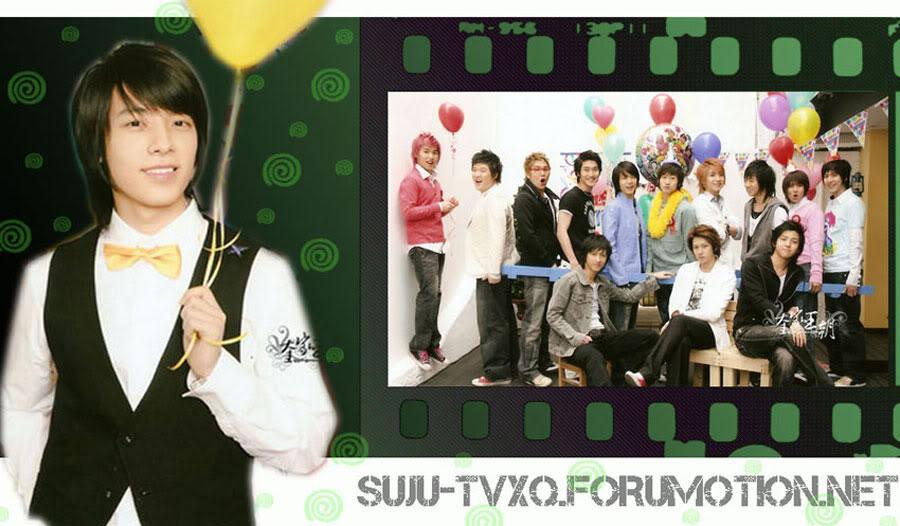 Welcome To SUJU & TVXQ Forum