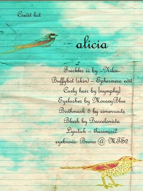 Alicia Aliciacreditlist
