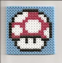Kirby's Bead Sprite Corner! Mushroom_Coster-1