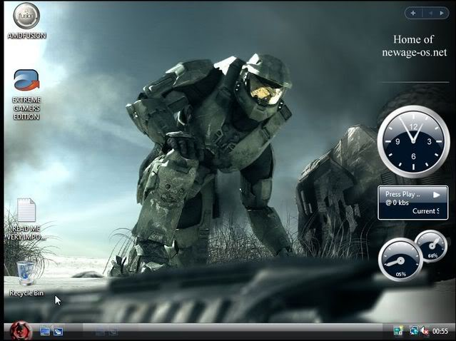 Vista Extreme Gamer 25