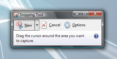 طريقة عمل صورة للشاشة  (screenshot) Snipping_Tool_2