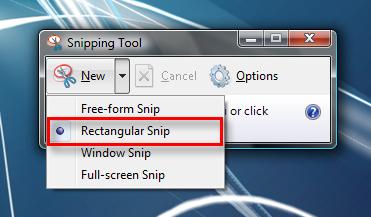 طريقة عمل صورة للشاشة  (screenshot) Snipping_Tool_5