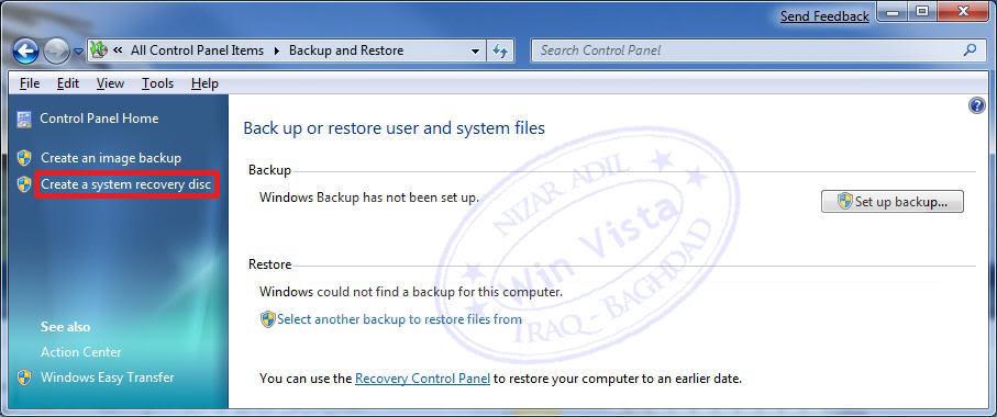 شرح كيفية انشاء قرص اصلاح [ Repair Disc ] .. في ويندوز 7 System-repair-disc-create_3