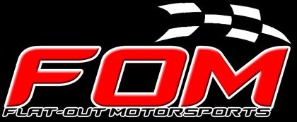 Flat-Out Motorsports FOMNewLogo