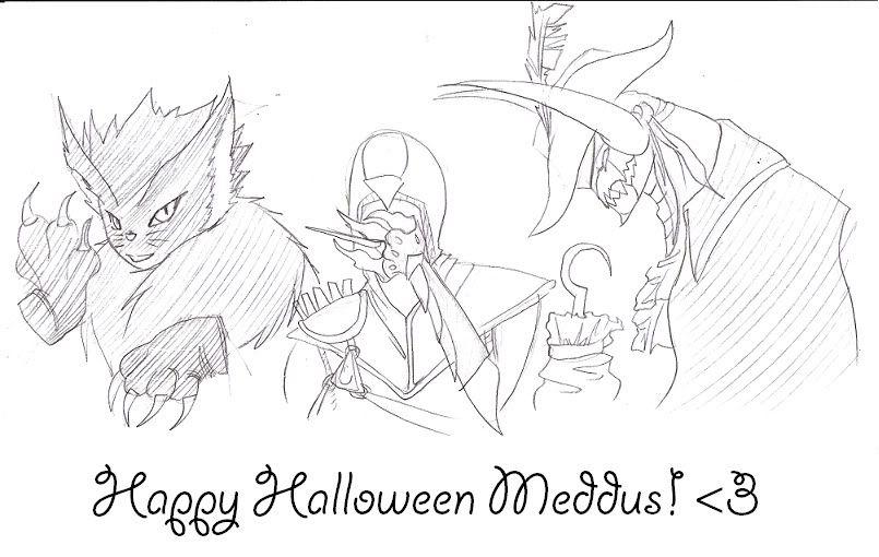 Happy Halloween Meddus! Meddushalloween