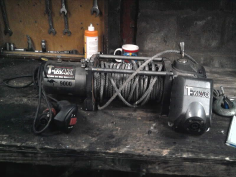 Tmax winch 9000lb for sale £100 Photo0294