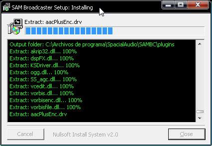Configuracion del SAM Snap18