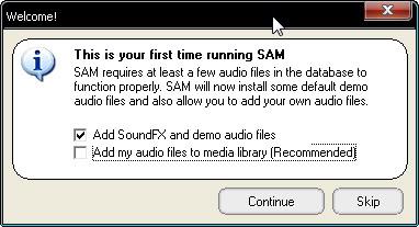 Configuracion del SAM Snap26