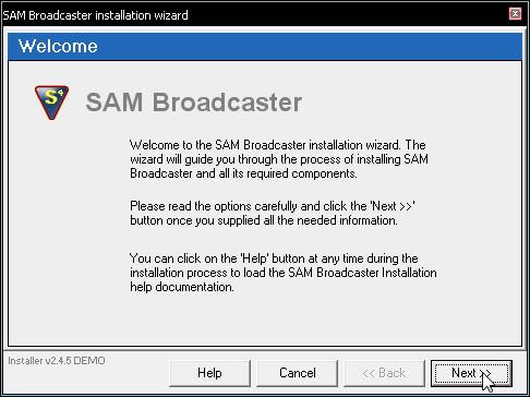Configuracion del SAM Snap3