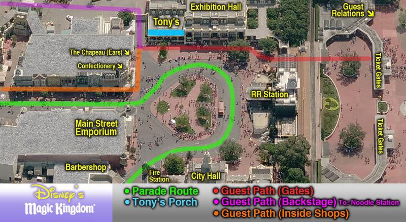 [Magic Kingdom] Main Street USA: nouvelle allée parallèle et refonte de Central Plaza (2015) MK-Tonys-Paths-061308B