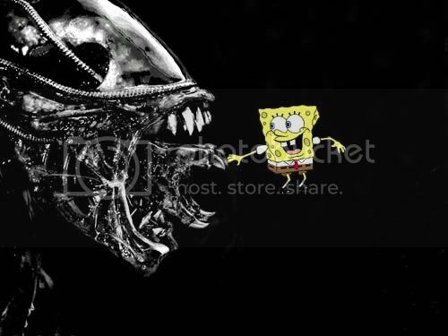 Alien vs. Spongebob