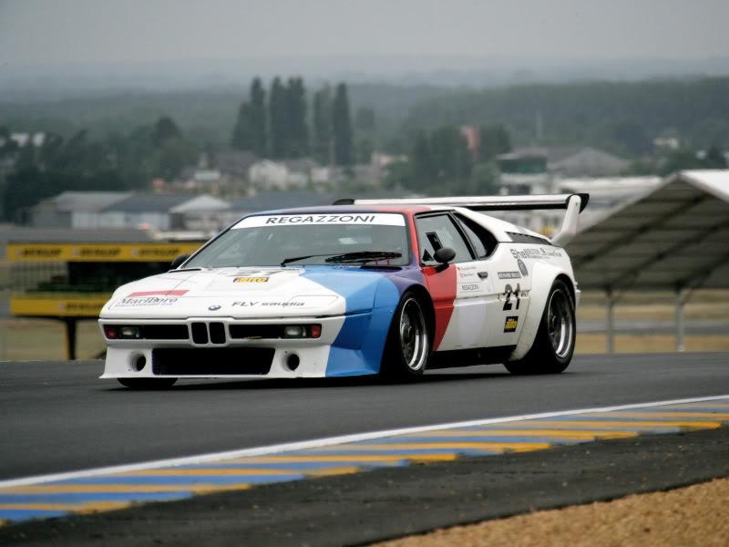 Sex on wheels 2006-BMW-Le-Mans-Classic-1972-1979-BMW-M1-1600x1200