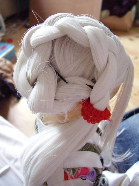 "Tutorial pour coiffure ""geisha"" P1281552"