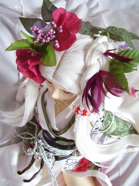 "Tutorial pour coiffure ""geisha"" P1281560"