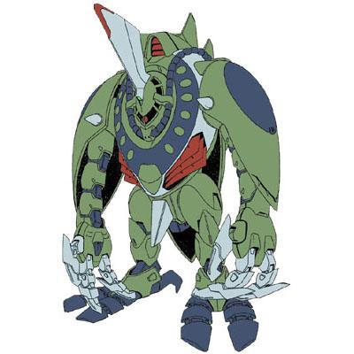 พบเห็นเหล่า กองร้อยกบ ในการ์ตูนเรื่อง Gundam  Umf-5