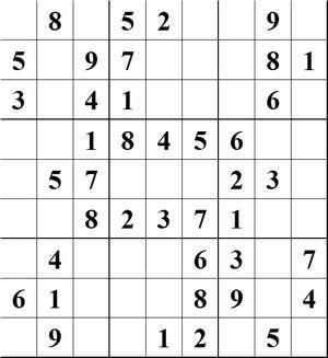 Grille n°2 Sudoku02