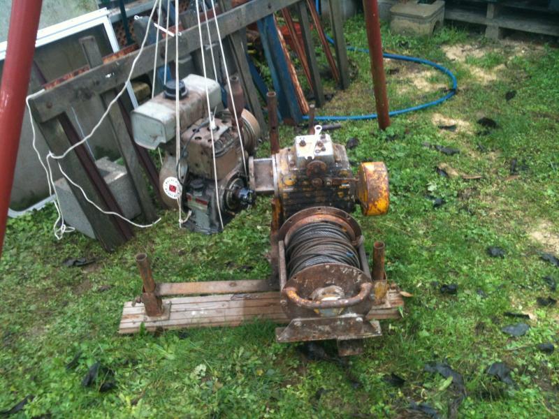 treuil forestier moteur bernard