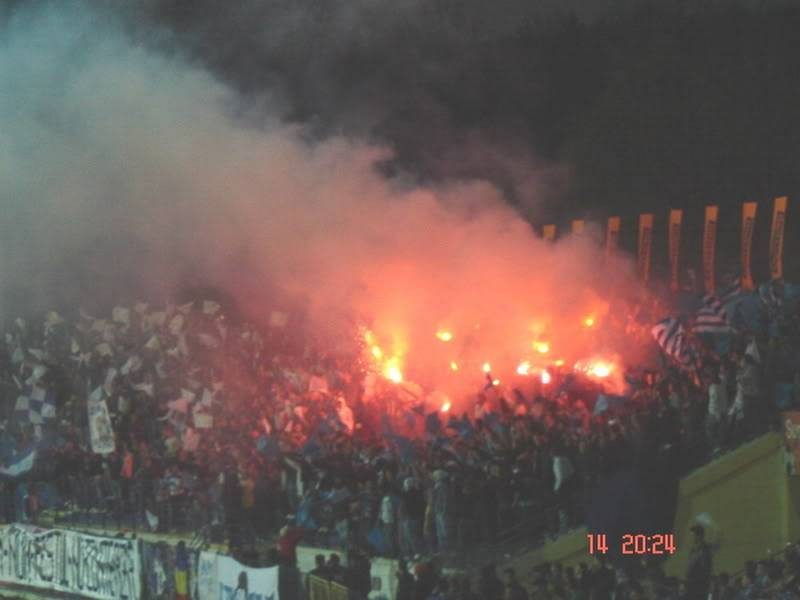 Pyro PoliIasiStadion7