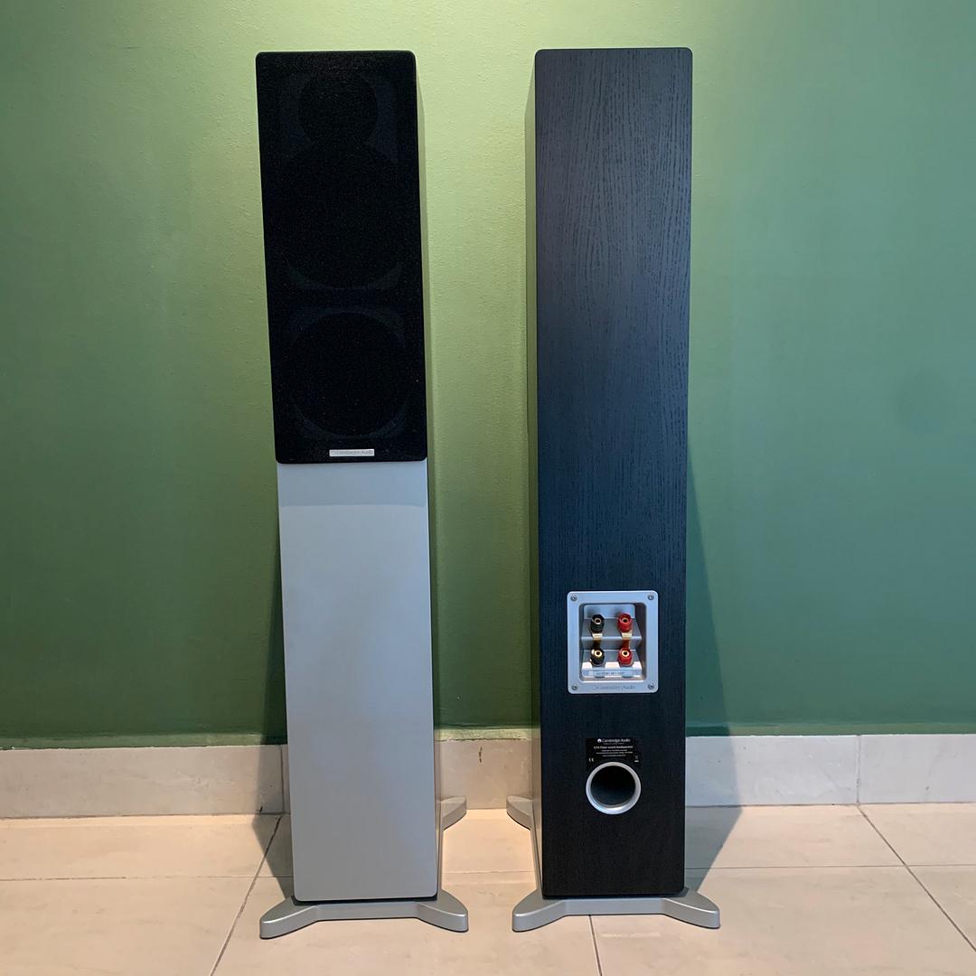 Cambridge Audio S70 Floor-standing speaker (black) SOLD IMG_9718