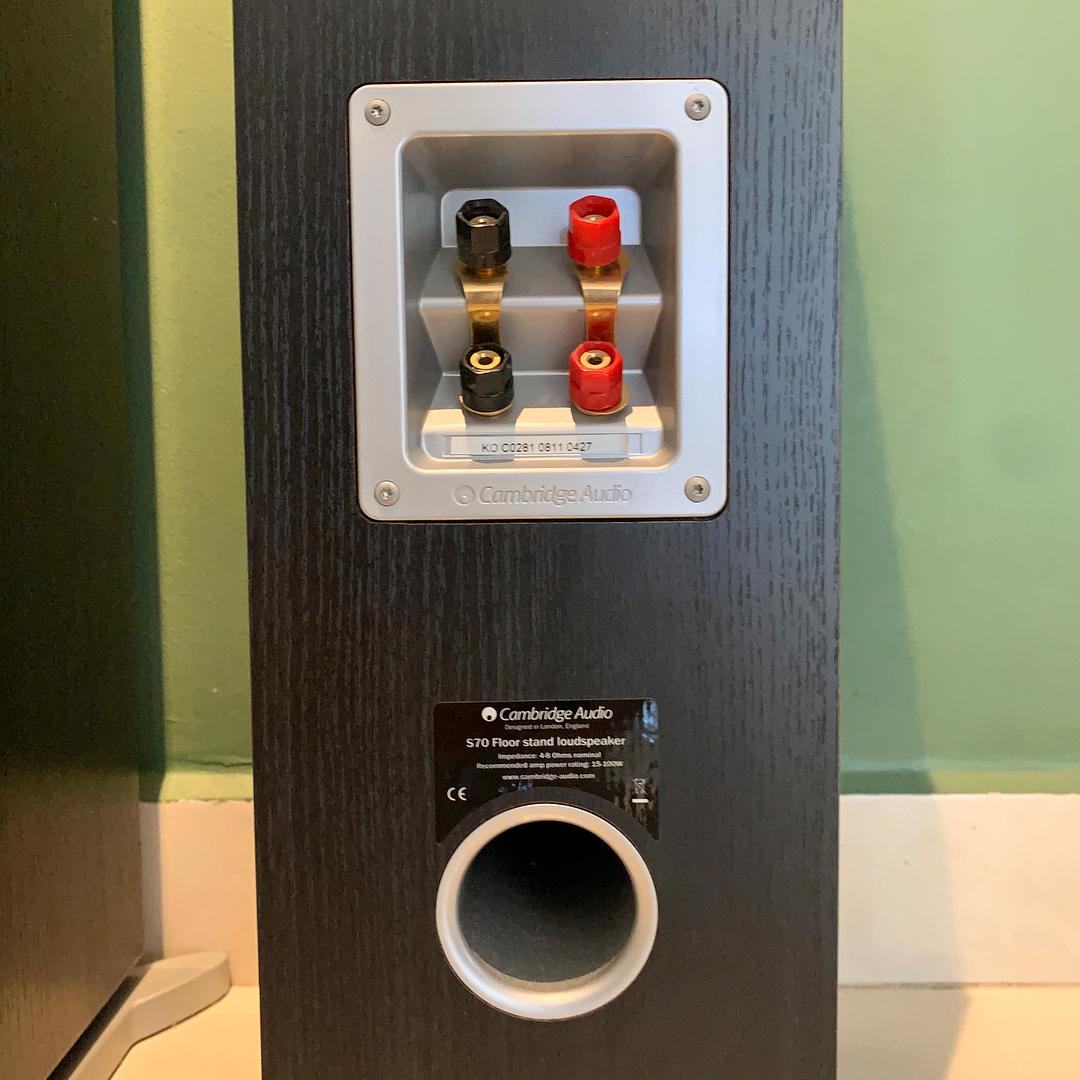 Cambridge Audio S70 Floor-standing speaker (black) SOLD IMG_9719