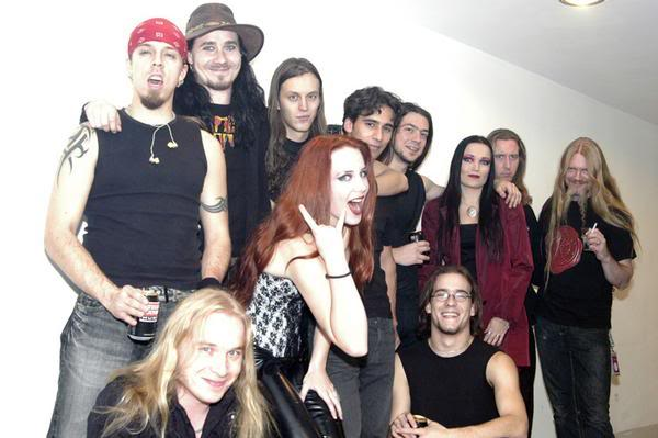 Tarja y amigos músicos Epnigbig