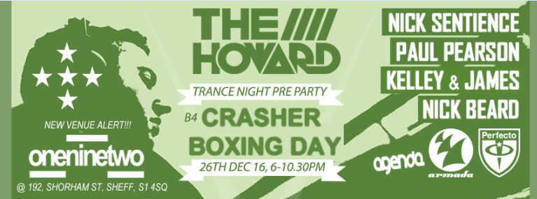 Crasher Pre Party The Howard At Bar 192 Boxing Day The%20Howard%20B4%20Gatecrasher%20Boxing%20Day%20Mon%2026th%20Dec%202016%20NEW_zps15adf7a6
