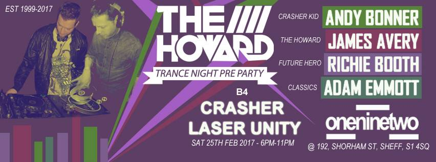 The Howard B4 Crasher Laser Unity Pre Party At 192 The%20Howard%20B4%20Gatecrasher%20Unity%2026th%20Feb%202017_zpscktf41aq