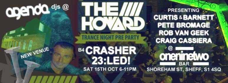 Crasher Led 23 Pre Party By The Howard Promo At Bar 192 The-Howard-B4-Gatecrashers-23rd-Birthday-Sat-15th-Oct-2016_zpszf4fhddw