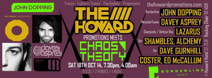 The Howard Promo meets Chaos Theory Sat 18th Oct 2014 TheHowardPromoMeetsChaosTheorySat18thOct2014v4_zps7842b571