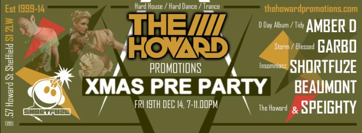 The Howard Promo Xmas Pre Party Fri 19th Dec / Hard House /  TheHowardPromoXmasPrePartyFri19thDec2014V5Landscape1_zps6e1110e5