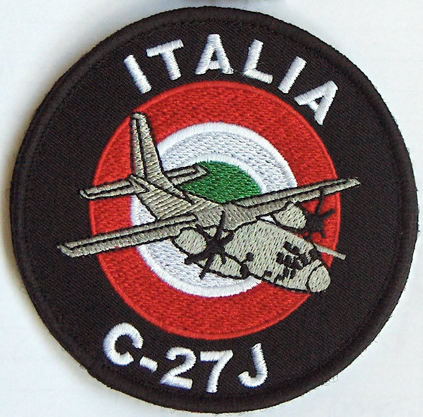 Embleme de aviatie Patch_c27_IT