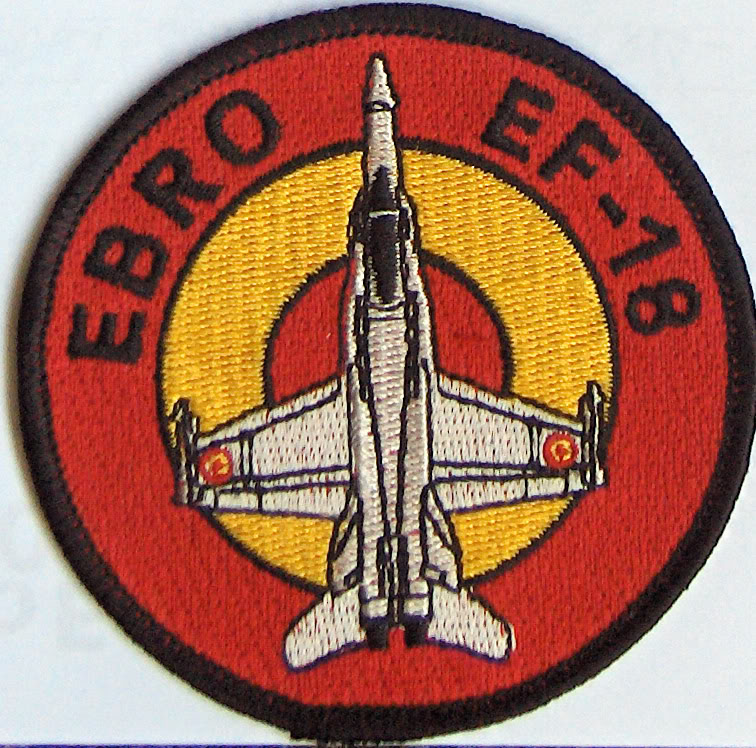 Embleme de aviatie Patch_ebro-f18_ES