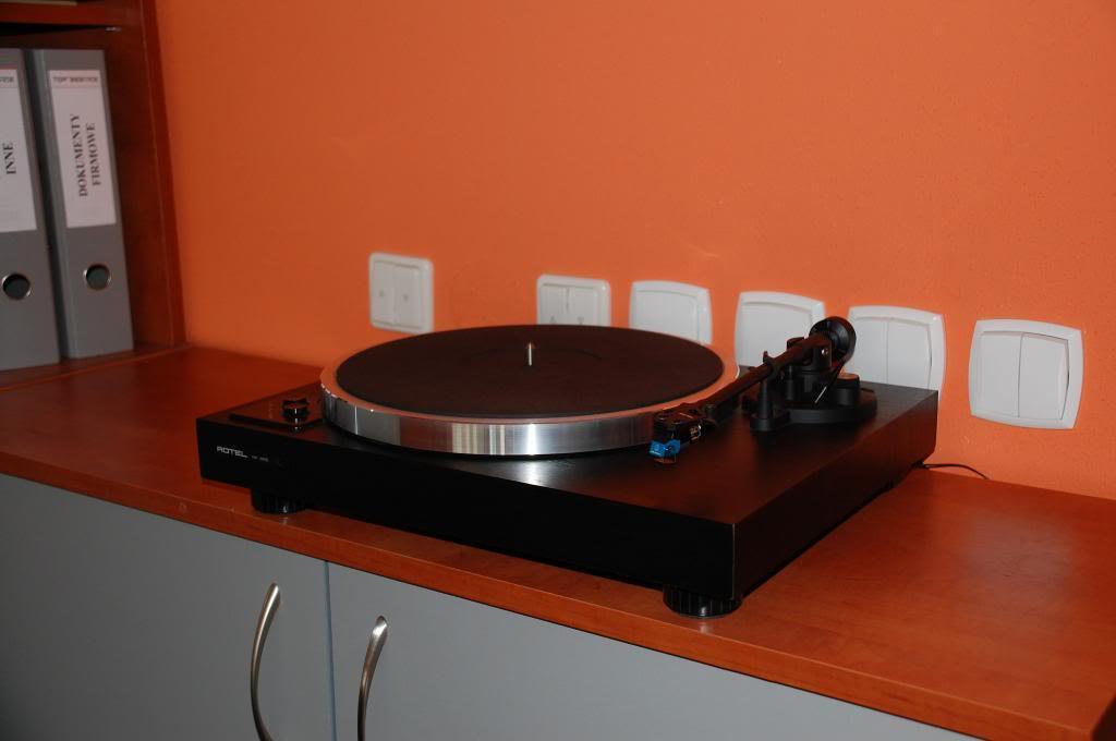 O meu 1º Gira Discos Rotel-RP855