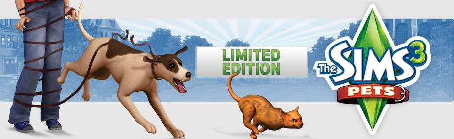 Sims Pets 3 & Sims Pets 3 Limited Edition  71072_936x287_APv2