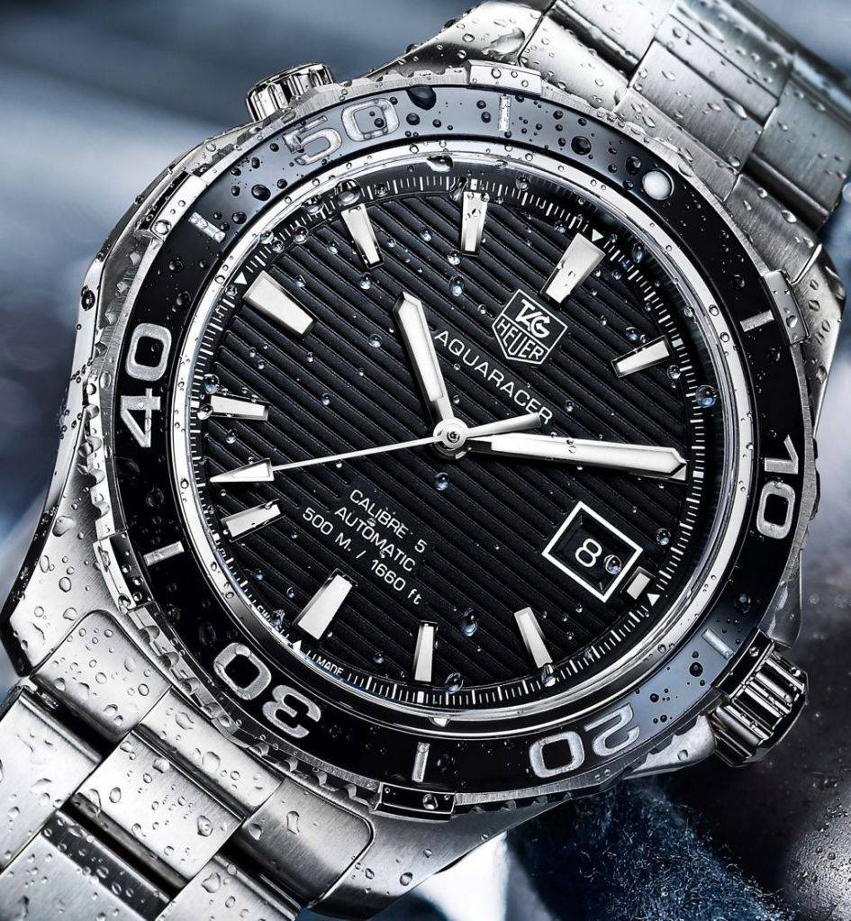 Tag Heuer's New Aquaracer 500m Ceramic AQUARACER-500M_WAK2110