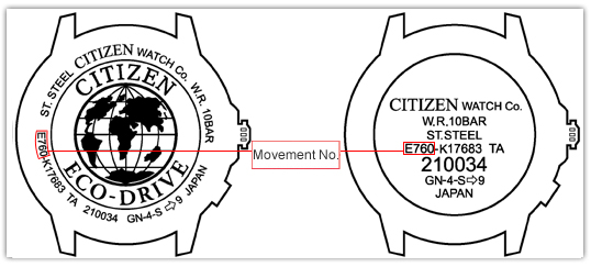 Citizen Eco-Drive Recharging Guide Manual_caseno01