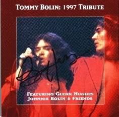 Tribute To Tommy Bolin, A - Glenn Hughes & Friends TOMMYBOLIN1997TRIBUTE