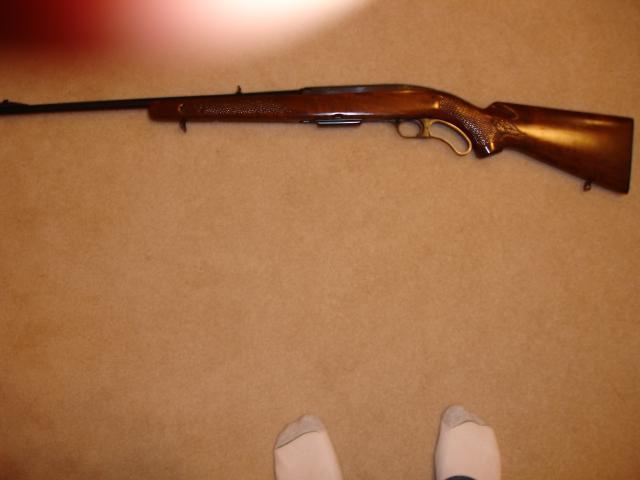 Scored A Winchester Model 88 Rifle DSC01514