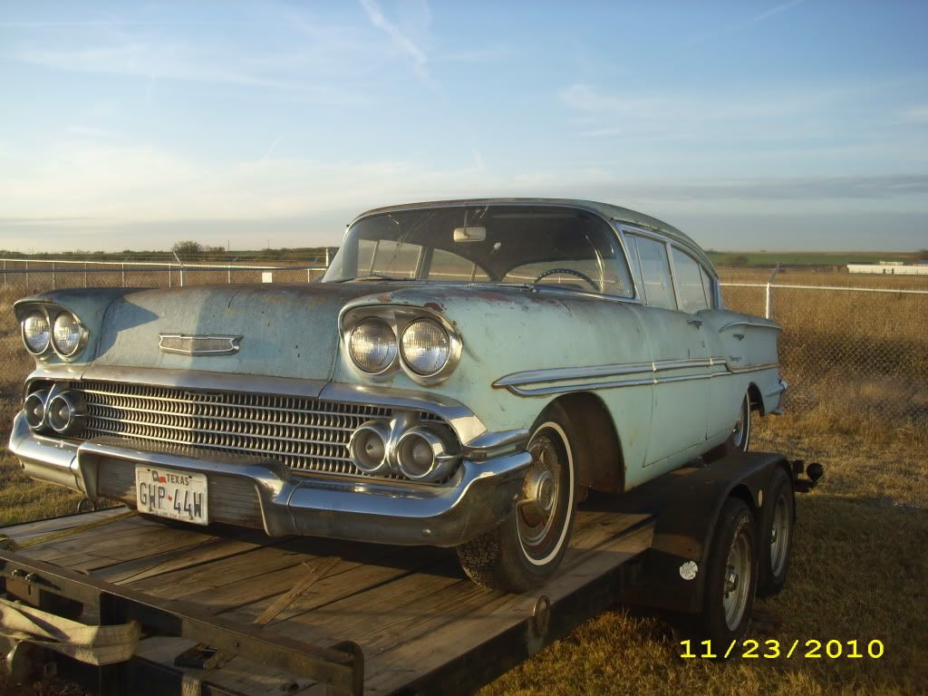 My new project, 1958 Chevrolet Biscayne DSCI07281