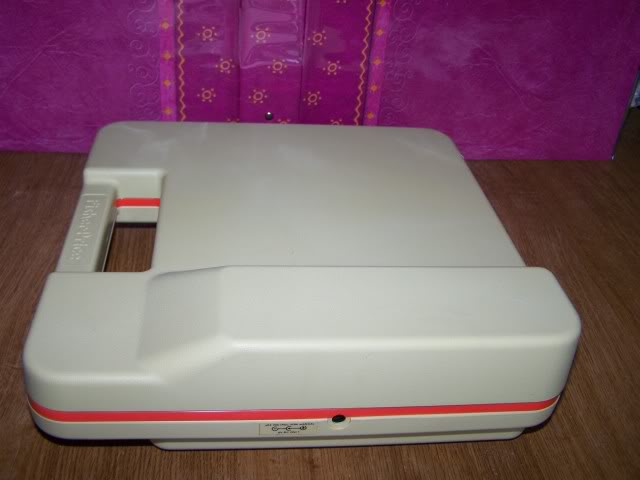 """Platine vynil portable """"pick up"""" 45/33T Fisher price 1982 100_1671"""
