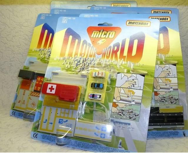 [MATCHBOX] micro motor world 1990 Micromotor