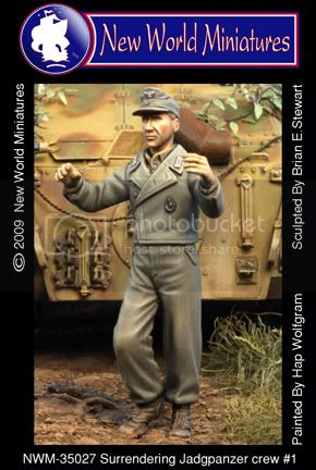 More new miniatures from New World Miniatures 35027