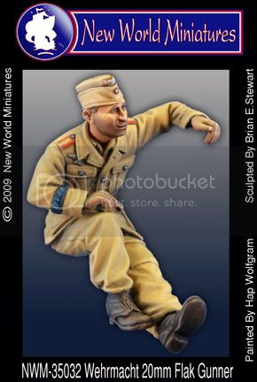 More new miniatures from New World Miniatures 35032