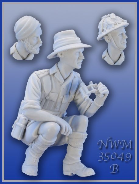 New from NEW WORLD MINIATURES 35049B